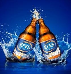 Старт производства пива под брендом Efes Pilsener в Турции