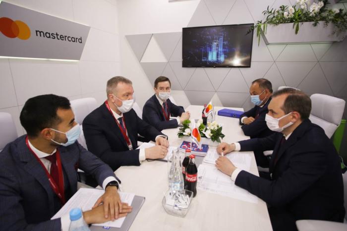 Встреча представителей AB InBev Efes и представителей Республики Мордовия в рамках ПМЭФ 2021